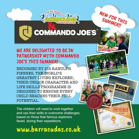 commando joes and barracudas