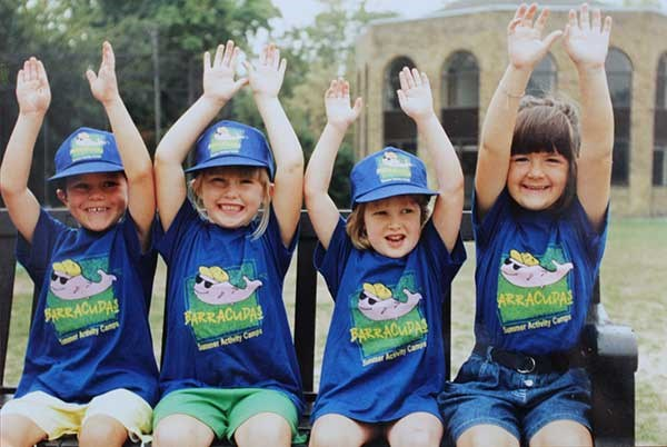 Hands up for the first Barracudas holiday clubs